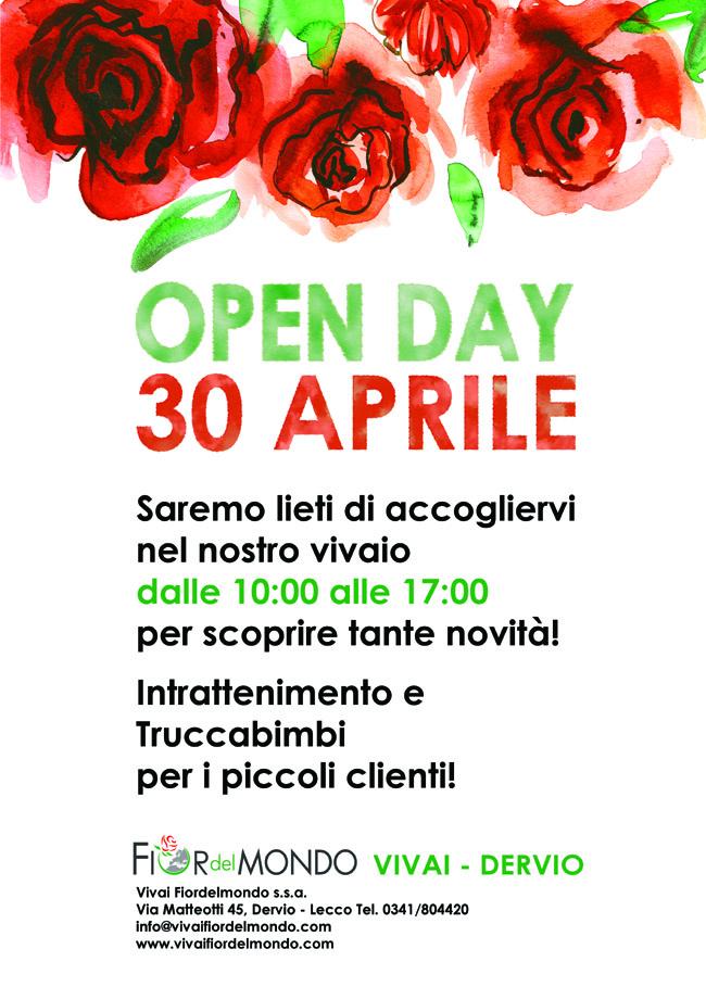 open day 2017 vivaifiordelmondo